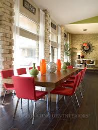 see new color schemes styles and patterns from october s high orange and coral kitchen interior design