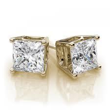 gold second studs earrings emerald stud earrings wonderful stud earrings gold ct