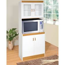 White Kitchen Cabinet Amazon Com Home Source Industries 153brd Tall Kitchen