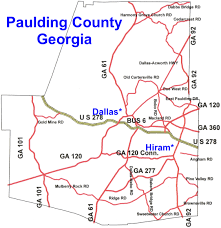 Dallas County Map by Prices Of Paulding County Georgia Homes Is Rising