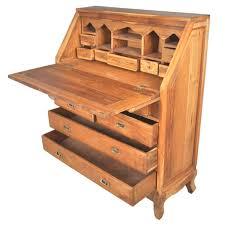 Secretary Office Desk by Classic Butler U0027s Teak Wood Drop Front Secretary Office Desk