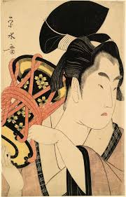 a third gender beautiful youths in japanese prints at japan