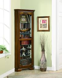Glass Curio Cabinet With Lights 124 Best Curio Cabinets Images On Pinterest Curio Cabinets Wood