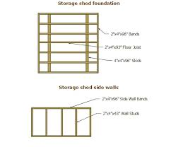 Free Wood Shed Plans 10x12 by 25 Free Garden Shed Plans