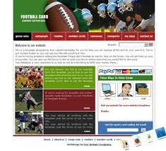 soccer website template soccer website templates free soccer