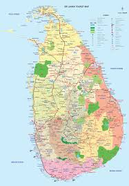 Nhl Map Sri Lanka Tourism Map