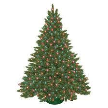 7 5 pre lit artificial tree spruce