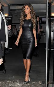 leather dress how to wear a leather dress scherzinger missguided and