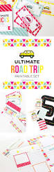 ultimate road trip printables get one page free printable crush