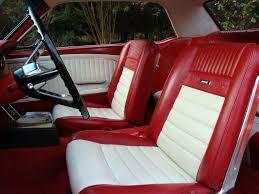 1965 mustang parts 1965 mustang cv pony upholstery white lamustang com