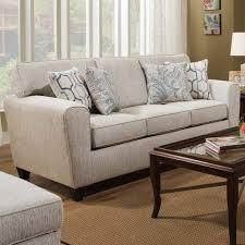 uptown cream chenille sofa weekends only furniture u0026 mattress