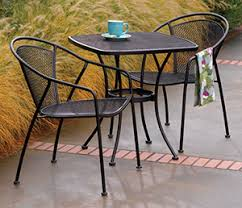 Bistro Patio Chairs Uptown Patio Collection Bistro Set True Value