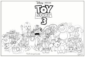 coloring pages exquisite toy story 3 coloring pages book