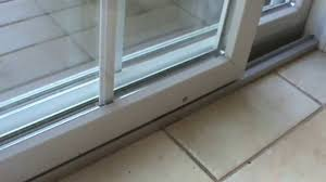 sliding glass doors repair of rollers patio doors how to replace patio door sliding roller youtube