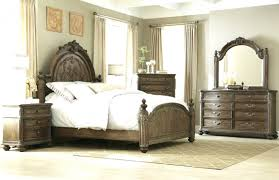 Bedroom Sets With Media Chest Stanley Ashley Cavallino Bed Furniture Silver Bedroom Set Fit For King