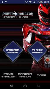 power rangers sticker share android apps google play