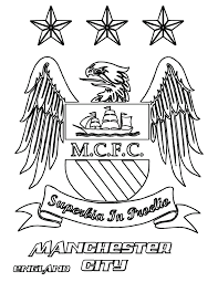 manchester city coloring pages no1 football info 1football org