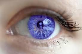 purple eye color violet eye color stock image image of close female 67855015