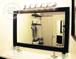 cheapest bathroom mirrors how to frame a bathroom mirror on a budget bathroom mirrors