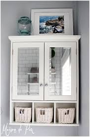 Bathroom Storage Drawers by Shelf Design Wonderful Bathroom Cabinet With Shelf White