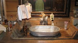 sink small galvanized buckets metal bathroom accessories wash tubs