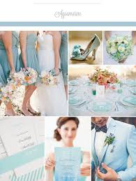 aquamarine wedding 2015 top wedding color trends weddings wedding and