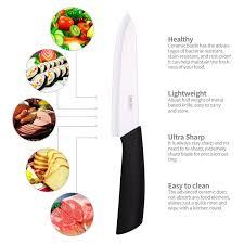 amazon imisi ceramic knife set with sheath kitchen dining