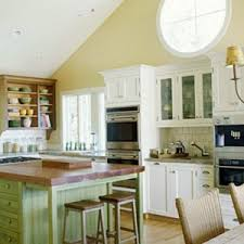 Cottage Style Kitchen Island by Outstanding English Cottage Style Kitchen Come With White Wooden