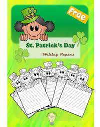 st patricks day writing paper free st patrick s day themed writing paper i am lucky