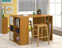 counter height desk with storage 54 modern counter height cappuccino cherry desk artstudio