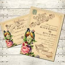 tallulah vintage victorian love birds and roses printable