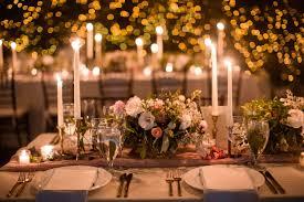 flower arrangements with lights 50 prettiest wedding tables wedding tablescape ideas