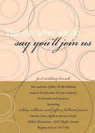 after wedding brunch invitations post wedding brunch invitations mounttaishan info