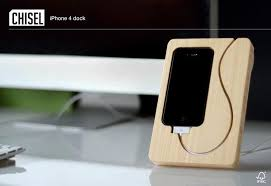 diy charging dock the handmade bamboo iphone dock gadgetsin