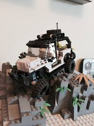 jeep lego lego jeep jk wrangler unlimited 6w w articulating suspension and