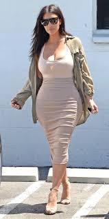 kim kardashian west u0027s skintight look hugs her curves in all