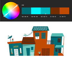 learn to use the adobe color themes extension to easily choose