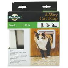 Interior Pet Door For Cats 4 Way Locking Cat Door By Petsafe P1 4w 11