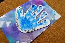 father u0027s day handprint craft