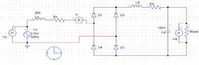 the case study of simulation of power converter circuits using