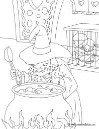 hansel and gretel tale coloring pages hellokids com