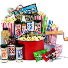 Popcorn Baskets Popcorn Lovers Night At The Movies Gift Basket Premium Gift