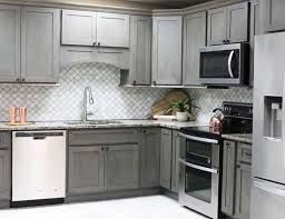 kitchen cabinets gray stain rustic gray shaker cabinets easy kitchen cabinets