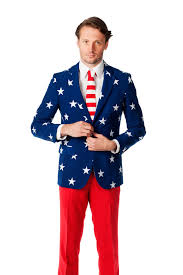 Blue Flag With Stars American Flag Clothing By Shinesty