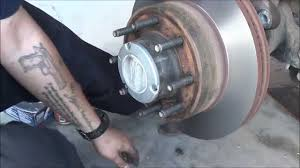 ford f250 brakes ford superduty front brake replacement 2008 and up