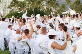 all white party dîner en blanc honolulu 2015 an all white affair at ko olina