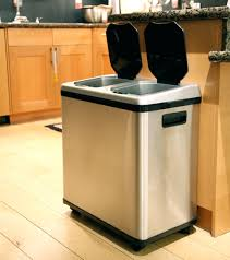 In Cabinet Trash Cans For The Kitchen Oxo Good Grips Kitchen Trash Can Kitchen In Cabinet Cans Kitchen