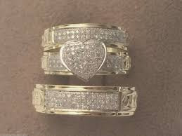 wedding band sets for him and wedding rings emerald cut engagement rings wedding band sets for