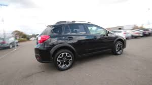 subaru crosstrek black wheels 2016 subaru crosstrek 2 0i premium crystal black silica