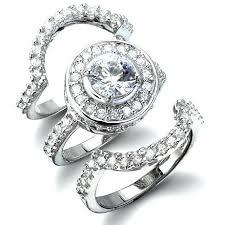 bridal set rings bridal wedding sets rings blushingblonde